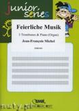 Ok�adka: Michel Jean-Fran�ois, Feierliche Musik - Trombone