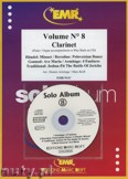 Okładka: Armitage Dennis, Solo Album Vol. 08 + CD  - CLARINET