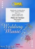 Okładka: , Utwory na flet, klarnet i fortepian (BACH: Aria, CLARKE: Trumpet Voluntary, MENDELSSOHN: Wedding March, PURCELL: Trumpet Tune, WAGNER: Bridal Chorus) - Woodwind Ensemble