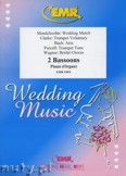 Ok�adka: , Utwory na 2 fagoty i fortepian (BACH: Aria, CLARKE: Trumpet Voluntary, MENDELSSOHN: Wedding March, PURCELL: Trumpet Tune, WAGNER: Bridal Chorus) - BASSOON