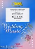 Okładka: Różni, Utwory na uroczystości zaślubin na róg F, tubę i fortepian (organy)