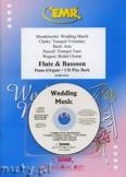 Okładka: Różni, Utwory na uroczystości zaślubin na flet, fagot i fortepian (+ CD)