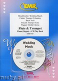 Okładka: Różni, Utwory na uroczystości zaślubin na flet, trąbkę i fortepian (+ CD)
