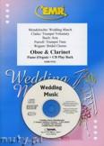 Okładka: Różni, Utwory na uroczystości zaślubin na obój, klarnet i fortepian (+ CD)