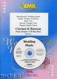 Okładka: Różni, Utwory na uroczystości zaślubin na klarnet, fagot i fortepian (+ CD)