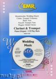 Okładka: Różni, Utwory na uroczystości zaślubin na klarnet, trąbkę i fortepian (+ CD)