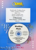Ok�adka: , Utwory na 2 fagoty i CD (BACH: Aria, CLARKE: Trumpet Voluntary, MENDELSSOHN: Wedding March, PURCELL: Trumpet Tune, WAGNER: Bridal Chorus) - BASSOON