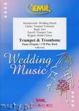 Okładka: Różni, Utwory na uroczystości zaślubin na trąbkę, puzon i fortepian (+ CD)