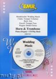 Okładka: Różni, Utwory na uroczystości zaślubin na róg, puzon i fortepian (+ CD)