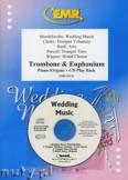 Okładka: Różni, Utwory na uroczystości zaślubin na puzon, euphonium i fortepian (+ CD)