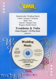 Okładka: Różni, Utwory na uroczystości zaślubin na puzon, tubę i fortepian (+ CD)
