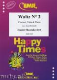 Ok�adka: Szostakowicz Dymitr, Waltz N� 2 for Clarinet, Tuba and Piano