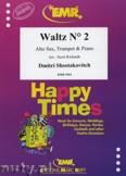 Ok�adka: Szostakowicz Dymitr, Waltz N� 2 for Alto Sax, Trumpet and Piano