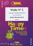 Ok�adka: Szostakowicz Dymitr, Waltz N� 2 for Alto Sax, Trombone and Piano