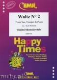 Ok�adka: Szostakowicz Dymitr, Waltz N� 2 for Tenor Sax, Trumpet and Piano