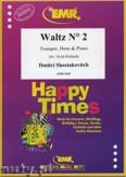 Okładka: Szostakowicz Dymitr, Waltz N° 2 for Trumpet, Horn and Piano