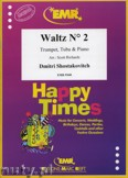 Ok�adka: Szostakowicz Dymitr, Waltz N� 2 for Trumpet, Tuba and Piano