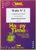 Ok�adka: Szostakowicz Dymitr, Waltz N� 2 for 2 Euphoniums and Piano