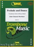 Ok�adka: Mortimer John Glenesk, Prelude & Dance (Trombone Solo) - BRASS BAND
