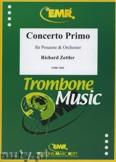 Ok�adka: Zettler Richard, Concerto Primo f�r Posaune - Orchestra & Strings