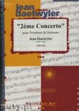 Ok�adka: Daetwyler Jean, 2. Concerto f�r Posaune - Orchestra & Strings