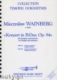 Ok�adka: Wainberg Michael, Concert in B-Dur, Op. 94 - Orchestra & Strings