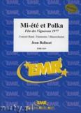 Okładka: Balissat Jean, Mi-été et Polka - Wind Band