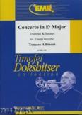 Okładka: Albinoni Tomaso, Konzert Es-Dur für Trompete - Orchestra & Strings
