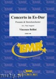 Ok�adka: Bellini Vincenzo, Concerto Es-Dur f�r Posaune - Orchestra & Strings