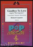 Ok�adka: Carpenters The, Goodbye to Love - Wind Band