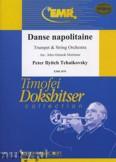 Okładka: Czajkowski Piotr, Danse Napolitaine für Trompete - Orchestra & Strings