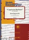 Okładka: Daetwyler Jean, Capriccio Barbaro - Wind Band