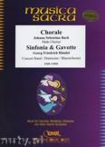 Okładka: Bach Johann Sebastian, Choral / Sinfonia & Gavotte (Male Chorus) - Wind Band
