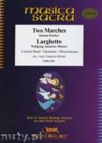 Ok�adka: Fischer Johann, Mozart Wolfgang Amadeusz, 2 Marches / Larghetto - Wind Band