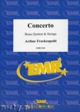 Ok�adka: Frackenpohl Arthur, Concerto for Brass Quintet and Strings