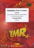 Ok�adka: Bizet Georges, Highlights From Carmen (Gipsy Song-Prelude-Habanera-Seguidilla-Entr'acte) - (Chorus SATB) - Wind Band