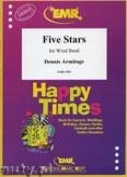 Ok�adka: Armitage Dennis, Five Stars - Wind Band