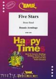 Okładka: Armitage Dennis, Five Stars - BRASS BAND