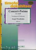Ok�adka: Wassilenko Sergei, Concert-Poeme in c-moll Op. 113 - Orchestra & Strings