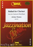 Okładka: Thomas Jérôme, Ballad for Clarinet - CLARINET