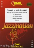 Ok�adka: Brillant Dany, Quand je vois tes yeux - Wind Band