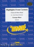 Okładka: Bizet Georges, Highlights From Carmen (Chorus SATB) - BRASS BAND