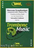 Ok�adka: Guilmant Alexandre, Morceau Symphonique (Trombone Solo) - BRASS BAND