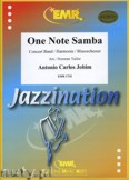 Okładka: Jobim Antonio Carlos, One Note Samba - Wind Band