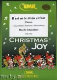 Okładka: Schneiders Hardy, Il est né, le divin enfant (Chorus SATB) - Wind Band