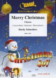 Okładka: Schneiders Hardy, Merry Christmas (Chorus SATB) - Wind Band
