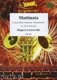 Ok�adka: Leoncavallo Ruggero, Mattinata - Wind Band