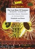 Okładka: Flotow Friedrich Freiherr von, Die letzte Rose - Wind Band