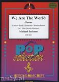 Okładka: Jackson Michael, Richie Lionel, We Are The World (Chorus SATB) - Wind Band