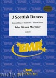 Okładka: Mortimer John Glenesk, Three Scottish Dances for Wind Band